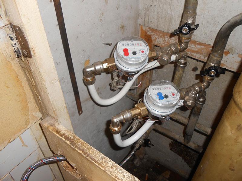 Монтаж, замена водосчетчиков в Усть-Илимске - Работа 5